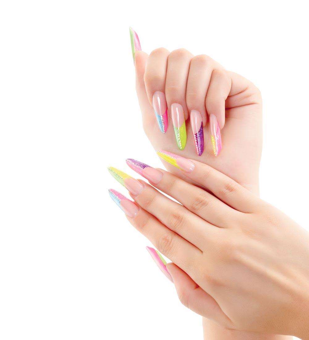 immagine di ricostruzione unghie