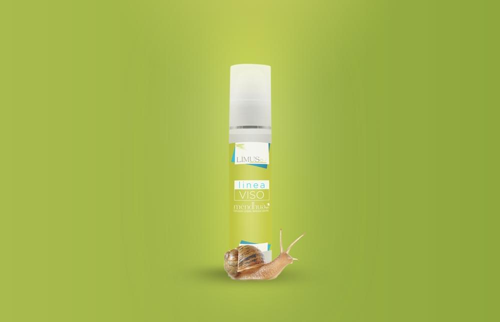 Lius bava di lumaca visual del prodotto cosmetico